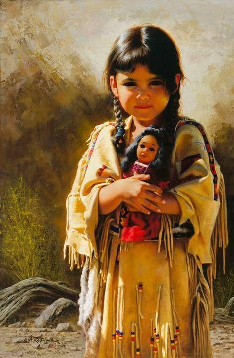 Sehr Enfants  peintures de Alfredo Rodriguez ! XN99