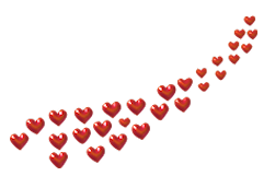 Ah kalbim minik dekoratif kalpler png formatında çok güzel